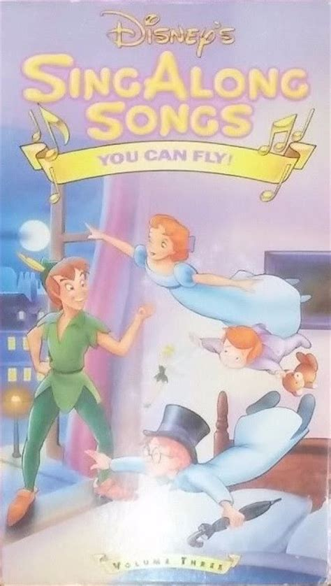 you can fly opening closing to disney s sing along songs you can fly