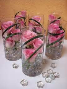 Single Glass Vase Wedding Centerpiece ? Flower Vase Centerpieces