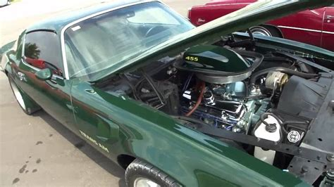 Green For Sale 73 Brewster Green Trans Am For Sale Protouring