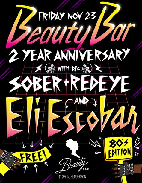 top notch beauty bar post twerkey day celebrations beauty bar s 2nd year anniversary with eli escobar