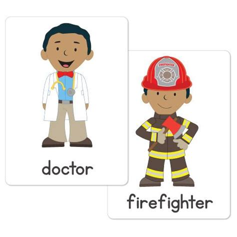 Classroom Decor Themes Community Helpers Flash Cards Busy Little Bugs