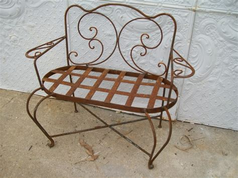 wrought iron loveseat bench wrought iron loveseat bench 28 images cottage chic