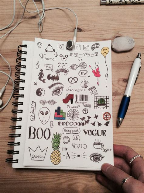 Drawing Journal Ideas by Doodles Drawings Doodles Drawings And