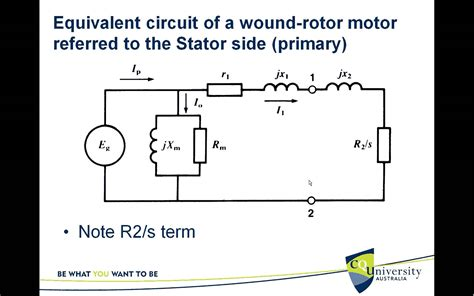 circle diagram of induction motor theory equivalent circuit of the three phase induction motor