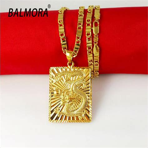 New Trend 24k Gold by New Fashion Jewelry Vacuum Plating 24k Gold Necklace