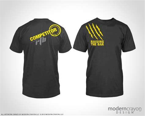 design a crossfit shirt crossfit rtb 2012 shred fest t shirts modern crayon