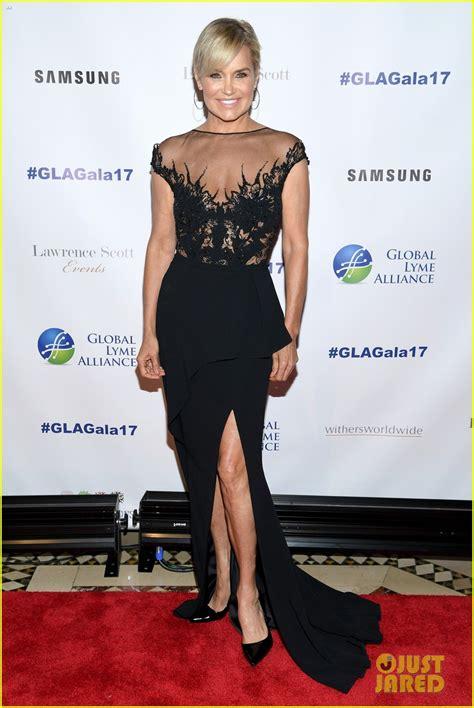 yolanda foster size dress yolanda hadid stuns at global lyme alliance gala in nyc