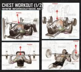 chest workout part 1 healthy fitness routine