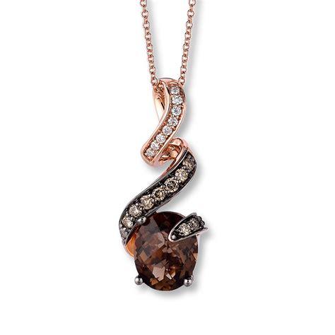 kayoutlet le vian chocolate quartz 1 4 ct tw diamonds