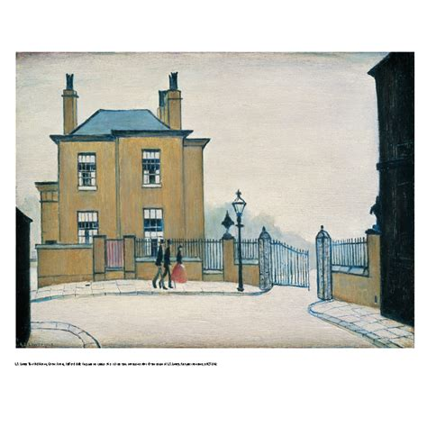 house prints lowry the old house unframed prints tate shop