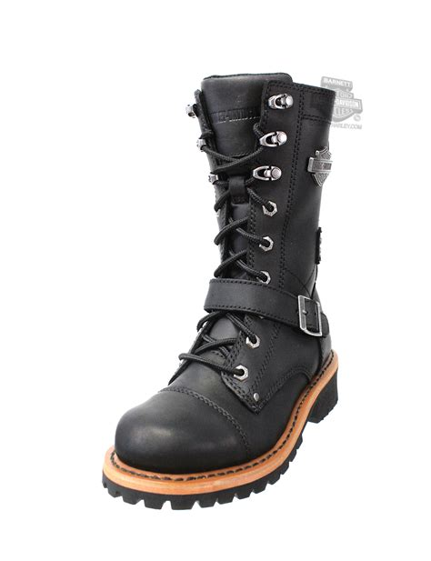 harley boots 87066 harley davidson 174 womens albara black leather high