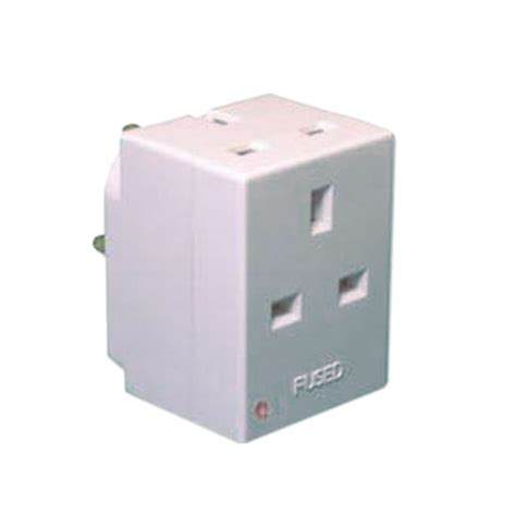 Three Way L Socket by 3 Way Uk Mains Power Block Adapters Uk Power Adapters Mains Power Cables Adaptors Power