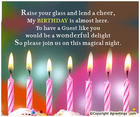 birthday invitation message to friends birthday invitation wordings