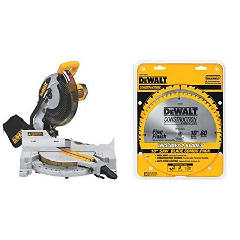 Dewalt Miter Saw And Saw Blade Combo Pack