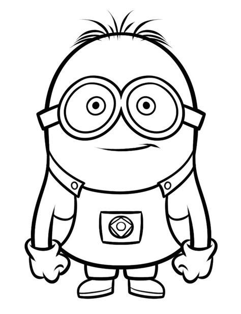 dibujos para colorear de los minions dibujo de los minions para imprimir y colorear 1 de 24