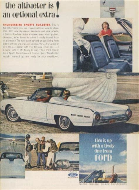 lando sport gazebo ford thunderbird ads