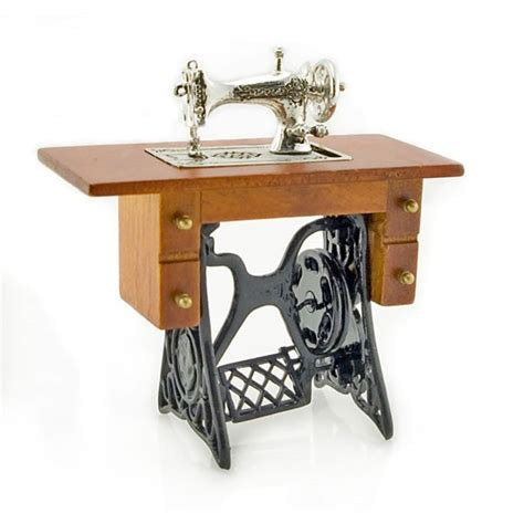 Table For Sewing Machine by Antique Silver Sewing Machine Table Dollhouse Miniature