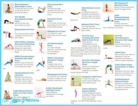 printable bikram yoga pose chart bikram yoga poses chart printable all yoga positions