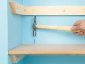 how to hang bookshelves custom shelving done 4 ways how tos diy