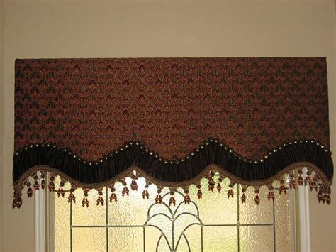 Custom Cornice Window Treatments Custom Cornice Board With Nailheads Window Treatment