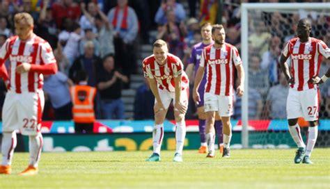 epl relegation epl pix west brom stay afloat stoke city relegated