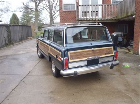 1989 jeep wagoneer for sale 1989 jeep wagoneer low reserve for sale jeep wagoneer