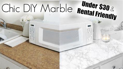 diy apartment diy marble apartment kitchen makeover