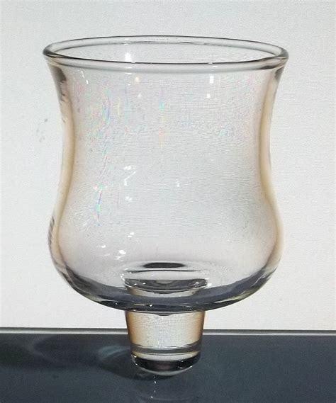 home interiors votive candle holders home interiors solid peg votive candle holder small trumpet clear 3 3 8 inch oos