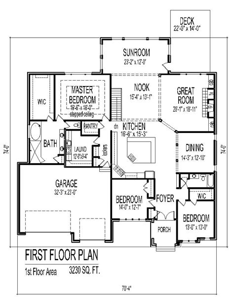 large house plans 7 bedrooms 7 bedroom single story house plans