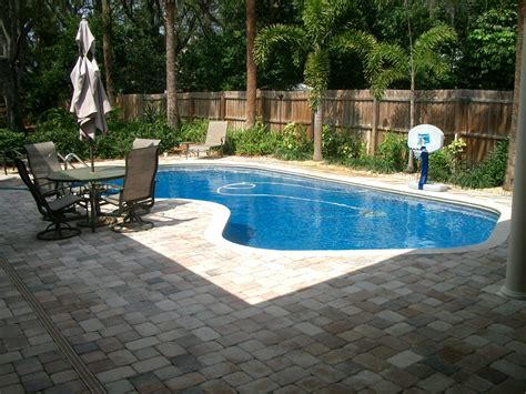 Backyard With A Pool Bl Landscaping Ideas For Pool Area Pictures Here