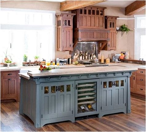 Kitchen Island Colors by The Great Many Colors And Styles Of The Kitchen Island