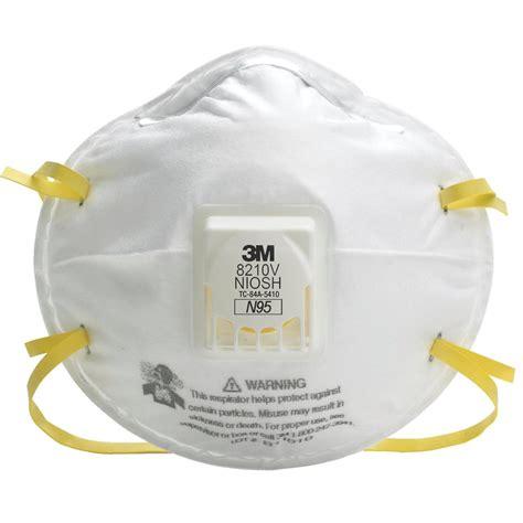 Masker N95 3m 8210v n95 respirator with exhale valve gempler s