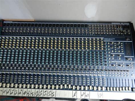 Mixer Behringer Eurodesk behringer eurodesk mx3282a image 470094 audiofanzine