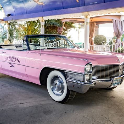 pink cadillac ceremony   white wedding chapel
