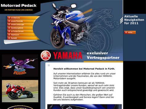 Motorrad Yamaha H Ndler Nrw by Motorrad Pedack In F 252 Rth Motorradh 228 Ndler