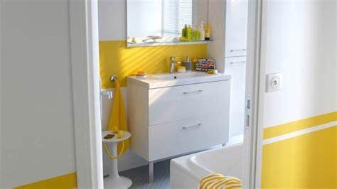 Merveilleux Salle De Bain Sous Les Combles #6: salle-de-bain-jaune-18.jpg