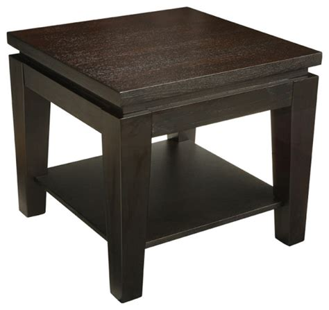 Contemporary Accent Table Asia Square End Table Contemporary Side Tables And End Tables By Inmod