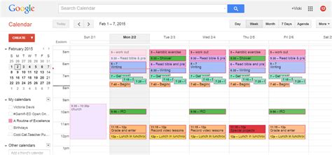 Ok Show Me My Calendar My Top Time Management Tips Plan Your Ideal Week