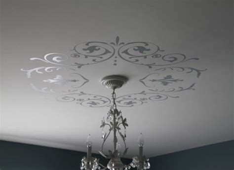 Ceiling Decals by Decorative Wall Ceiling Vinyl Decals Shabby Chic Or