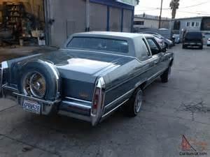 91 Brougham Cadillac 1981 Cadillac Fleetwood Brougham 2 Door Lowrider Big
