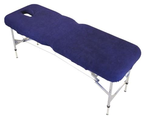 massage couch covers with face hole blue massage table couch cover with face hole