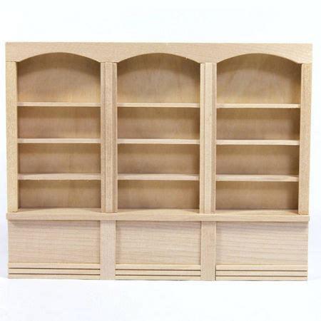dolls house shelf unit triple dolls house shop shelf unit bef060