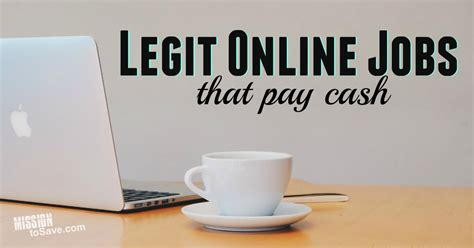 Ideas To Make Money Online Without Paying - legit online jobs that pay cash mission to save