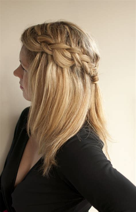 hairstyles with braids and hair down how to easy braid hairstyle hair romance reader question