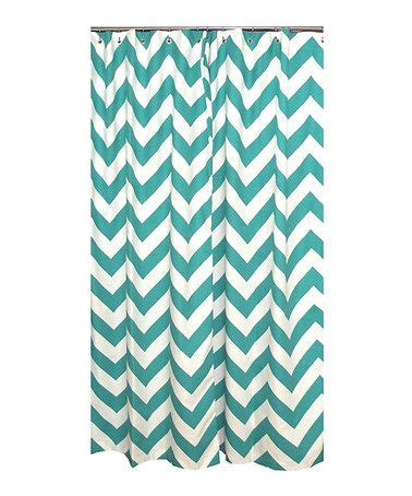 Turquoise Chevron Curtains