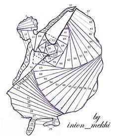 iris folding templates best photos of iris folding designs circle of crafters