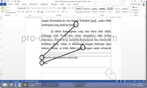 membuat catatan kaki cara membuat catatan kaki di artikel cara membuat catatan