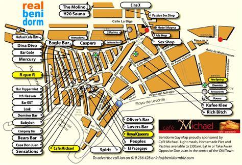 printable street map benidorm gay map benidorm print a street map showing the benidorm