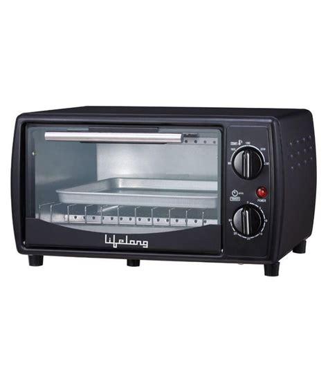 Kris Oven Toaster 10 Liter lifelong 10 ltr oven toaster griller black price in india buy lifelong 10 ltr oven toaster
