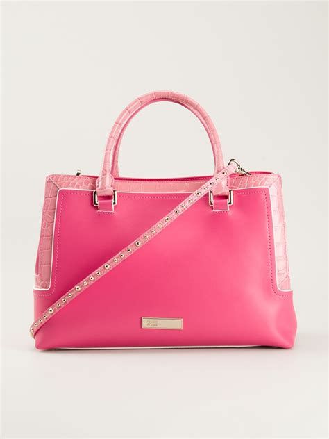 Roberto Cavalli B Grande Bag Purses Designer Handbags And Reviews At The Purse Page by Class Roberto Cavalli Kristen Medium Handbag In Pink Pink
